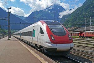 Duurzaam reizen met de trein